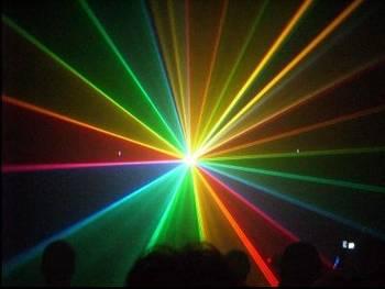 RGB flerfarge lasere